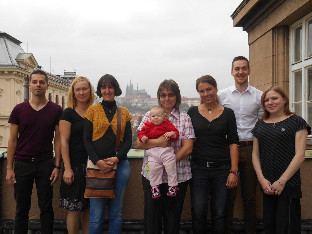 Praha, 2014 (Martin Šemelík, Věra Kloudová, Edita Čonosová, Věra Hejhalová, Martina Kolářová, Tomáš Koptík, Alžběta Bezdíčková)