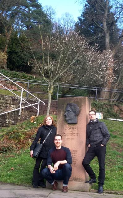 Heidelberg, 2016 (Alžběta Bezdíčková, Tomáš Koptík, Martin Šemelík)