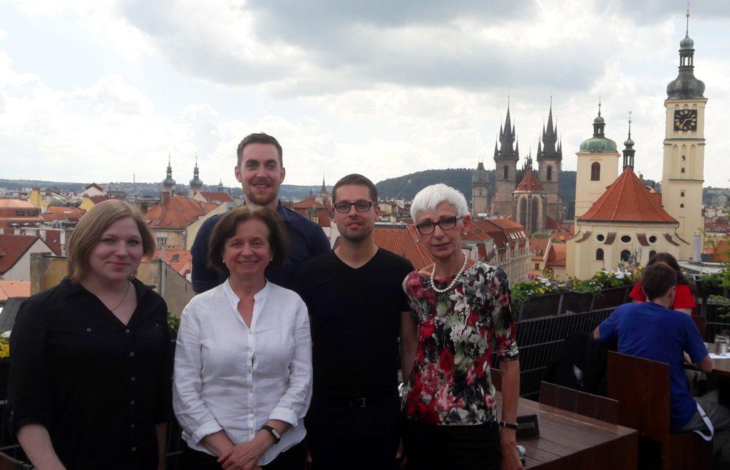 Praha, 2016 (Alžběta Bezdíčková, Marie Vachková, Tomáš Koptík, Martin Šemelík, Valéria Molnár)